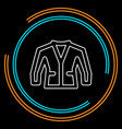 jacket isolated vector image
