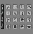 memorial day icon set vector image vector image