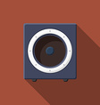 Music icons soundbox v vector image