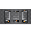 pos poi cardboard glass floor display rack for vector image