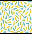 random colorful umbrella pattern design vector image