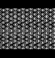 seamless pattern with eyes black and white vector image vector image