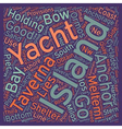 Yacht Charter in the Southern Cyclades text vector image vector image
