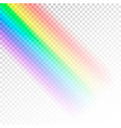 rainbow template abstract colorful spectrum of vector image