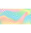 abstract color blend background holographic vector image vector image