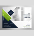 corporate presentation brochure template in vector image vector image