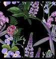 fashion vintage summer wallpaper vector image vector image