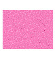 pink curl texture vector image vector image