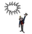 waving man-100 vector image vector image