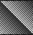 diagonal zigzag lines seamless pattern halftone vector image