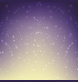 abstract background snow falling against purple vector image vector image