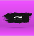 abstract grunge banner brush black paint ink vector image