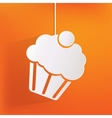 Cake web icon vector image vector image
