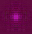 color abstractal halftone circle pattern vector image vector image