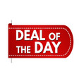 deal of the day banner design vector image