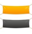 Fabric Rectangular Horizontal Banner with Ropes