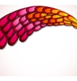 Floral retro card design vector image vector image