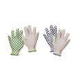 gardening gloves vector image vector image