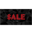 sale all item black background image vector image vector image