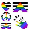 straight allies pride design elements