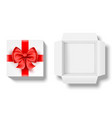 surprise gift boxes vector image vector image