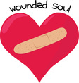 Wounded Soul vector image