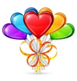 Heart Lollipops vector image