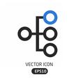 Heirarchy icon vector image