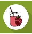 Smoothie icon design vector image vector image