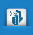spray icon vector image