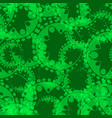 abstract seamless gentle pattern of green vector image vector image