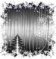 Christmas retro vector image vector image