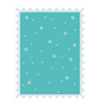 dotted background celebration merry christmas vector image vector image