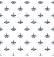 military airplane pattern vector image vector image