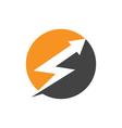 power logo template vector image