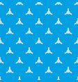 round mechanic detail pattern seamless blue vector image vector image