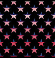 seamless wallpaper pattern of star vector image vector image