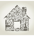 Tool the house vector | Price: 1 Credit (USD $1)