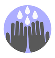 Wash your hands symbol vector image vector image