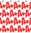 a grade text graphic vector image vector image
