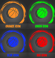 Basketball icon Fashionable modern style In the vector image vector image