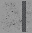 bicycle tire track wallpaper vector image