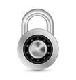 Closed Padlock vector image