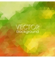 Colorful Abstract Background With Triangles vector image