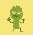 cute monster cartoon character 011 vector image vector image