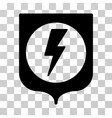 electric protection icon vector image vector image