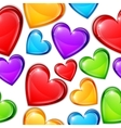 Heart Candies Pattern vector image vector image