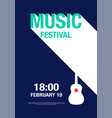 music abstract modern poster concert