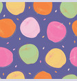 violet seamless pattern with apples vector image vector image