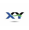 XY logo vector image vector image